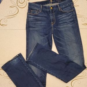 7 For All Mankind The Skinny Bootcut Sz 30
